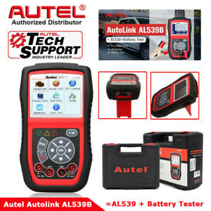 Car Battery Load Tester Digital Analyzer Cranking Charging Test 12v Autel Al539b