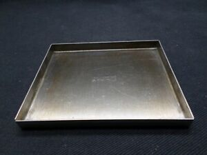 Lipshaw Stainless Steel Rectangle 10 20 Slide Staining Lid 4 1 4 l X 3 1 2 w