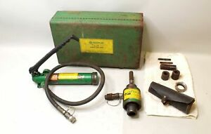Greenlee 767 Hydraulic Knockout Punch Out Driver Kit