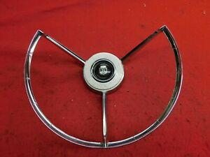 Used 58 Ford Fairlane 500 Custom Horn Ring b8a 13a805 b