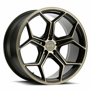 22 Xo Helsinki Bronze 22x9 22x10 5 Concave Wheels Rims Fits Dodge Charger