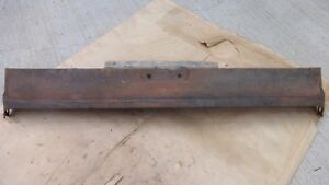 1929 1931 Model A Ford Briggs 4 Door Lower Rear Apron Original Tail Pan Valence