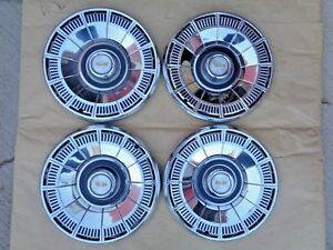 Nos 1980 1985 Chevy Caprice Classic 15 Wheel Covers Original Gm Hub Caps Set 4