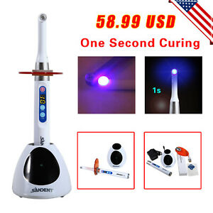 Dental Led Curing Light Lamp 1s Curing For Woodpecker Iled White Ds6