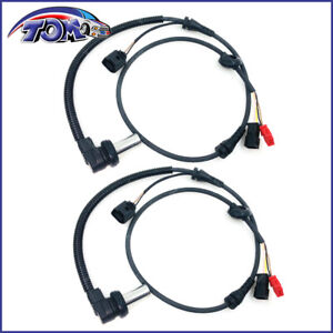 Abs Wheel Speed Sensor Front Left Right For 1999 2002 Audi A6 A6 Quattro 2pcs