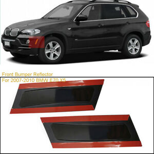 Rh Lh Smoke Front Bumper Reflector Side Marker Light For Bmw E70 X5 2007 2010