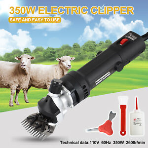 350 Wshears Animal Shave Grooming Farm Livestock Electric Clippers Goat Sheep