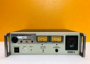 Rod l M25 8000 Vac Rated Front Panel Receptacle Ground Continuity Tester Tested