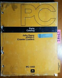 John Deere 450c Jd450 c Crawler Loader Parts Catalog Manual Pc 1443 9 76