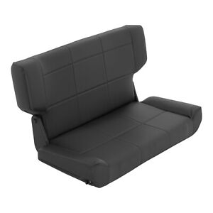 Smittybilt 41515 in Stock Fold And Tumble Rear Seat 97 06 Jeep Wrangler Tj