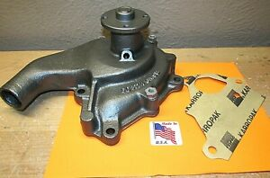 1937 To 1948 Pontiac 6 8 Cylinder Fresh Rebuilt Water Pump 1 Year Warranty 1221
