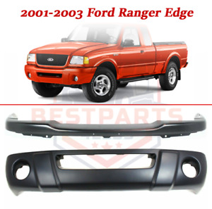 Front Steel Bumper With Lower Valance For 2001 2003 Ford Ranger Edge Models