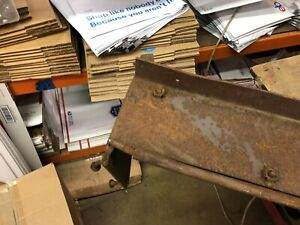 Antique Vintage 1935 1936 Ford Woodie Woody Tailgate Part