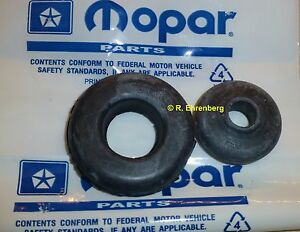 Oem Mopar Big Block Pcv Breather Grommet Set A B C E Body Satellite Cuda