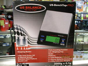 Us Balance Bench Top Pro Digital Table top Scale 2000g X 0 1g
