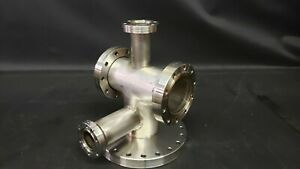 Mdc Varian Conflat Multi port High Vacuum Chamber Stainless Steel Uhv Cff Cf