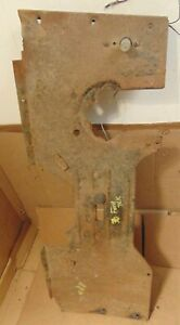 Vintage 1935 1936 1937 Ford Pickup Truck Floor Pan Insert Original Patina