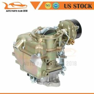 156 Carburetor 1 Bbl Carter Style Fit For Ford F150 240 250 300 Choke 75 82