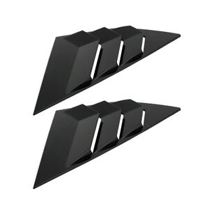 Car Rear Window Side Tuyere Louvers Vent For Ford Focus St Rs Mk3 Hatchback