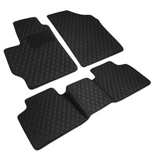 Toyota Camry 2012 2017 Custom fit Heavy duty Faux Diamond Leather Floor Mats