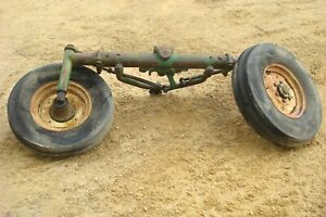 1966 Oliver 1550 Gas Tractor Wide Front End Assembly