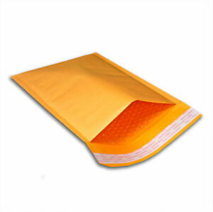 100 6x10 0 Kraft Bubble Mailers Padded Envelopes Shipping Bags Mailing 6 X 9