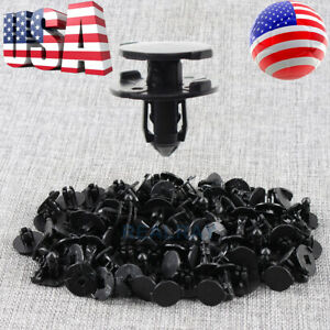 50 X Bumper Splash Shield Hood Engine Push Clip Screw Rivet For Nissan Infiniti