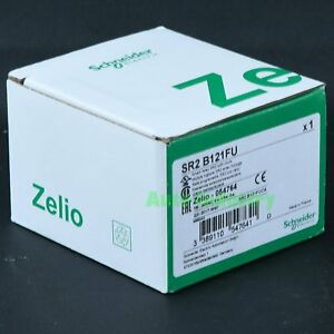 New In Box Schneider Zelio Plc Sr2b121fu Sr2 B121fu One Year Warranty