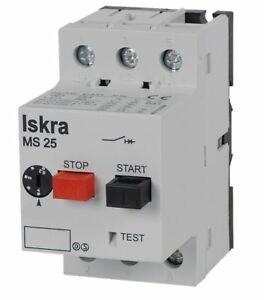 Iskra Mst25 1 6 Motor Protection Switch