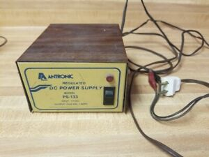 Antronic Ps 133 Regulated Dc Power Supply 115vac Input 13 8vdc 3a Output