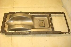 1966 Oliver 1550 Gas Tractor Hydraulic Oil Plate