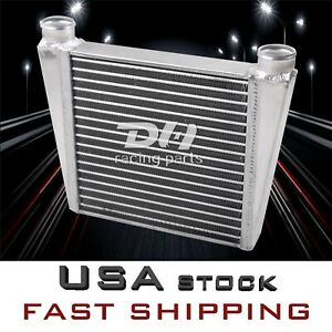 Aluminum Heat Exchanger For Air To Water 16 X13 Intercooler 2 Inlet
