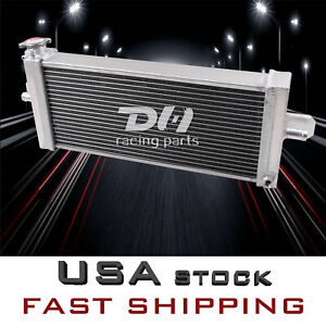 21 W X 8 H Supercharger Aluminum Heat Exchanger For Air To Water Intercooler