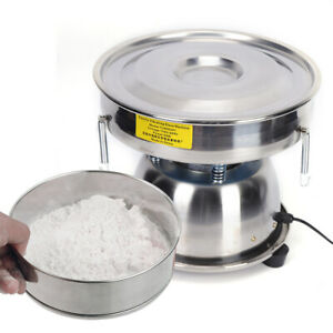 Electric Flour Sifter Automatic Sifter shaker Machine screen Deck For Commercial