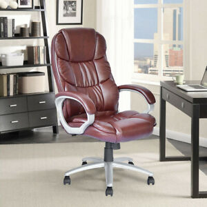 High Quality Executive Office Chair Boss Chair High Back Leather Computer Chair