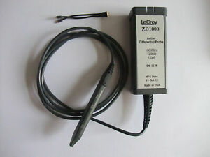 Lecroy Zd1000 Active Differential Probe 1000 Mhz 1 0 Pf