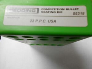 REDDING COMPETITION BULLET SEATING DIE 22 P.P.C. USA $125.00