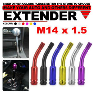 M14x1 5 Shift Knob Extension For Gear Shifter Lever 5 3 Inch 135mm Bend Extender