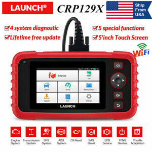 Launch X431 Crp129x For Bmw Gm Ford Automotive Obd2 Diagnostic Tool Obd Scanner