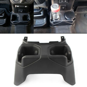 Console Cup Holder Fit 2018 2019 Jeep Wrangler Jl Rear Floor Auto Car Parts