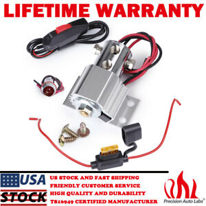 Universal Brake Line Lock Launch Roll Control Solenoid Electric Kit Hill Holder