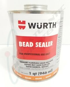 Wurth Tire Bead Sealer 1 Quart 32oz Can Brush Top