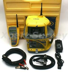 Spectra Precision Trimble Gl722 Dual Slope Grade Laser W Rc703 Remote Receiver