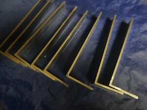 2 X 6 Aluminum Angle 1 8 Thick 1 In Length 8 Pieces