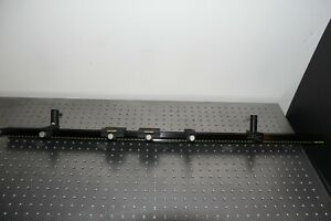 Melles Griot Optical Rail 1000 Mm Long 100 Mm Width With Five Carriers