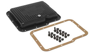 Rts 70000 Transmission Pan Kit Gm Holden Powerglide Deep Stamped Steel Black