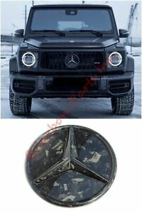 W464 W463a Forged Carbon Grille Badge Emblem Mb Style Mercedes G class 2019
