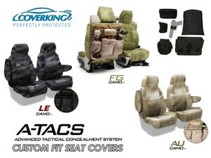 A Tacs Camo Tactical Cordura Ballistic Front Seat Covers For Toyota Tacoma