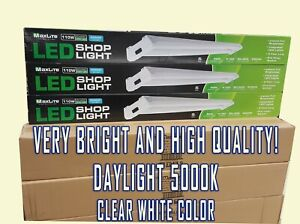 6 Led Shop Lights Maxlite Daylight 5000k 4100l 40w 110w Replacement High Quality