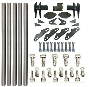 Parallel 4 Link Kit Universal Weld On Application 1 25 X 20 Bars Lh And Rh End